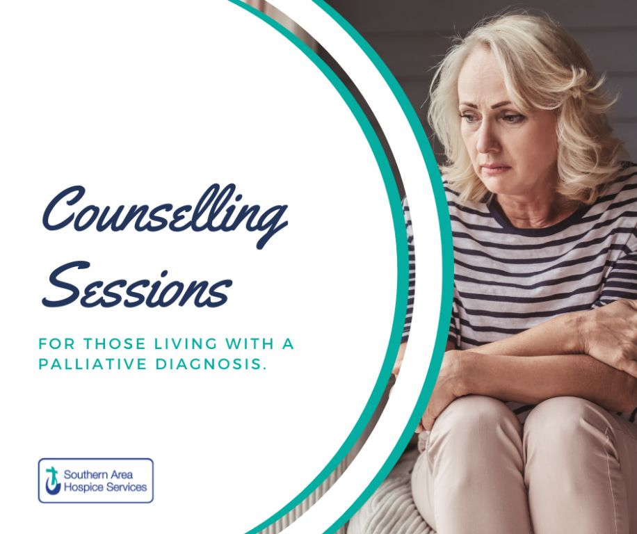 Counselling Sessions for those living with a Palliative Illness