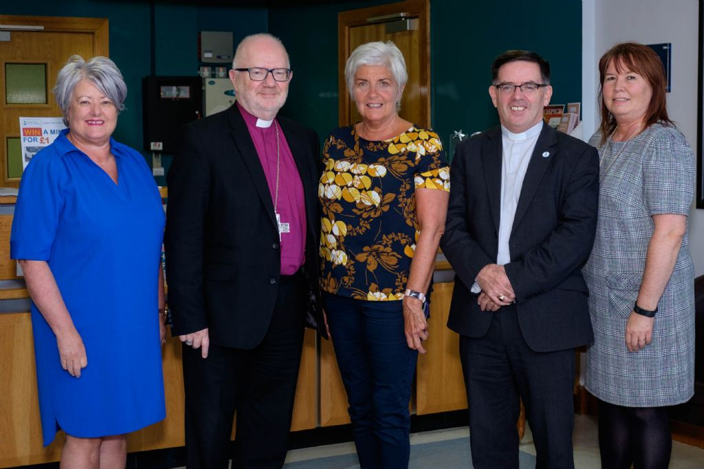 Archbishop of Armagh visits Hospice