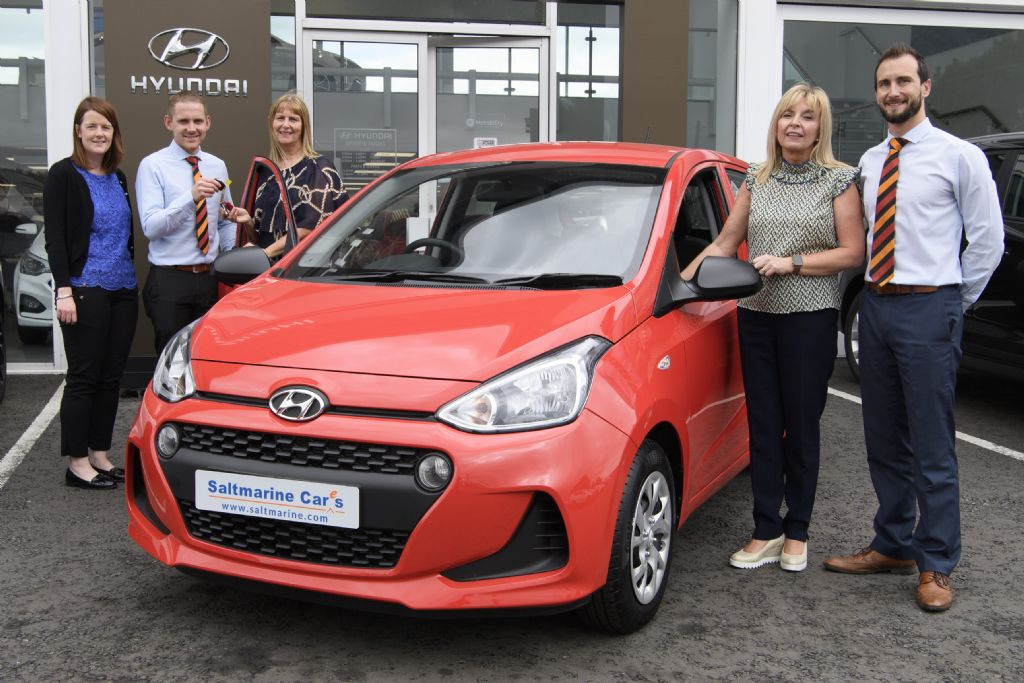 Ivor Drives away with top prize in Hospice Car Raffle