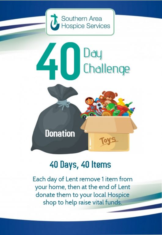 40 day challenge poster