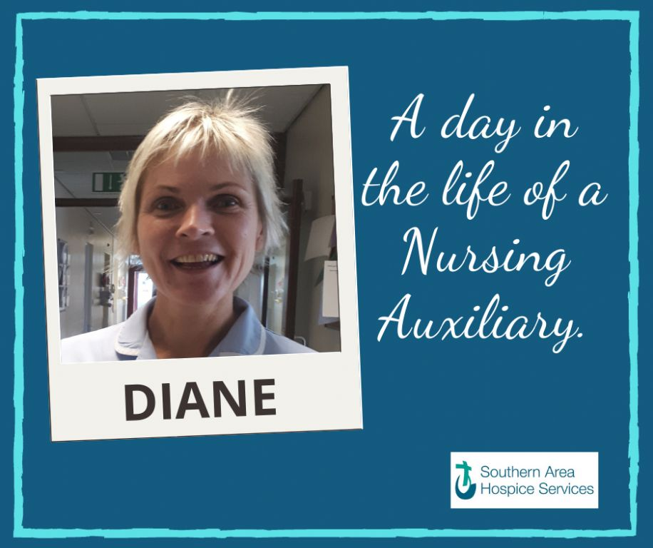 A day in the life of a hospice Nursing Auxiliary.