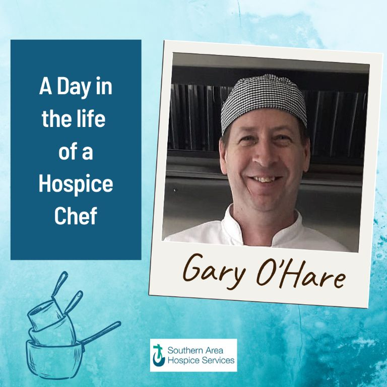 A day in the life of a hospice chef.