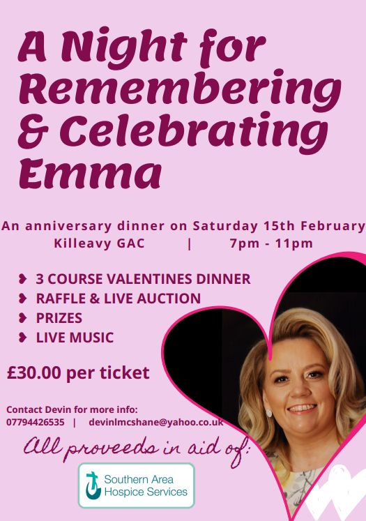 A Night for Celebrating & Remembering Emma