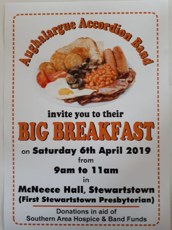 Aughalargue Accordian Band Big Breakfast