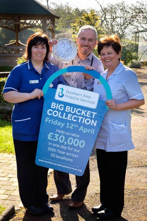 Hospice Big Bucket Collection