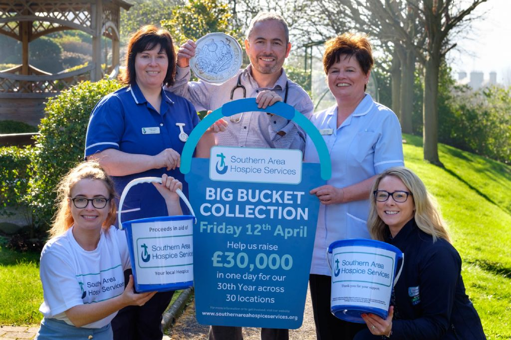 Could YOU help at our Big Bucket Collection