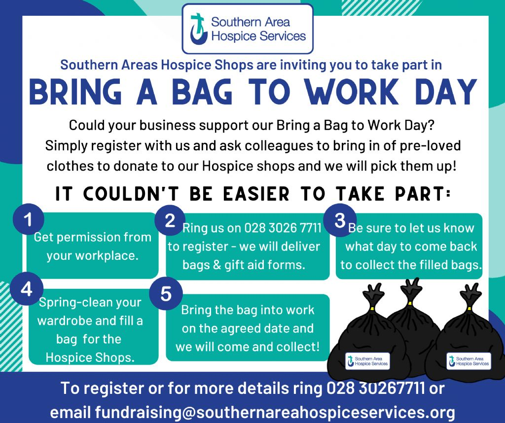 bring a bag to work day