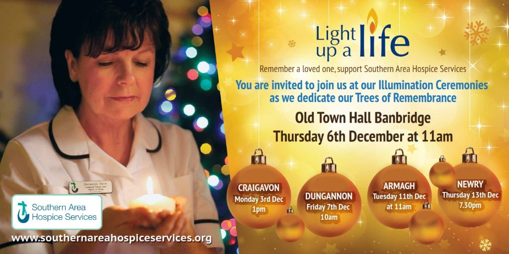 Light up a Life Illumination Ceremony Banbridge
