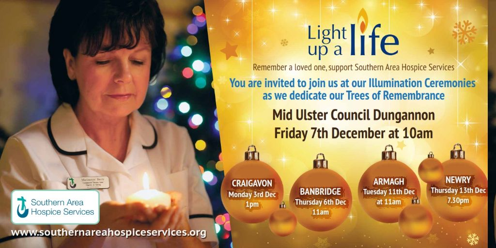Light up a Life Illumination Ceremony Dungannon