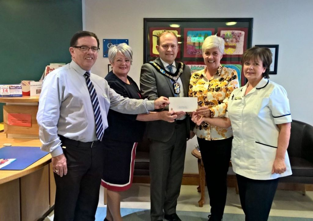 Hospice welcomes Lord Mayor of ABC