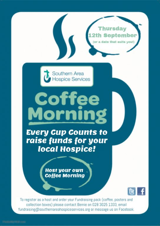 Host Your Own Hospice Coffee Morning