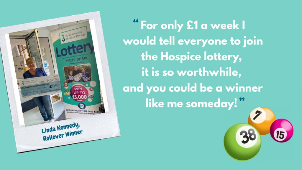 A Lotto Luck for Hospice Key Worker