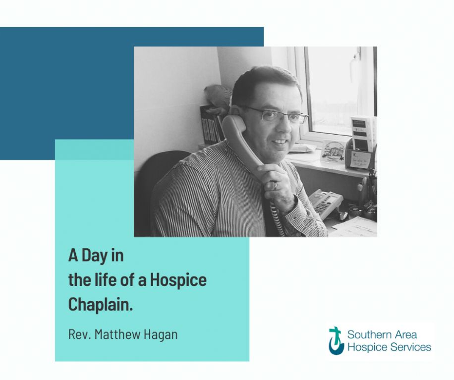 A day in the life of a hospice Chaplain.