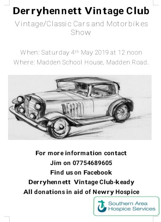 Derryhennett Vintage Cars, Motorbikes, Tractors and Stationary Engines Show