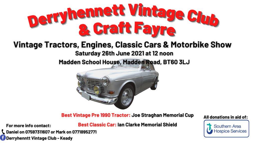 Derryhennett Vintage Vehicle Club & Craft Fayre