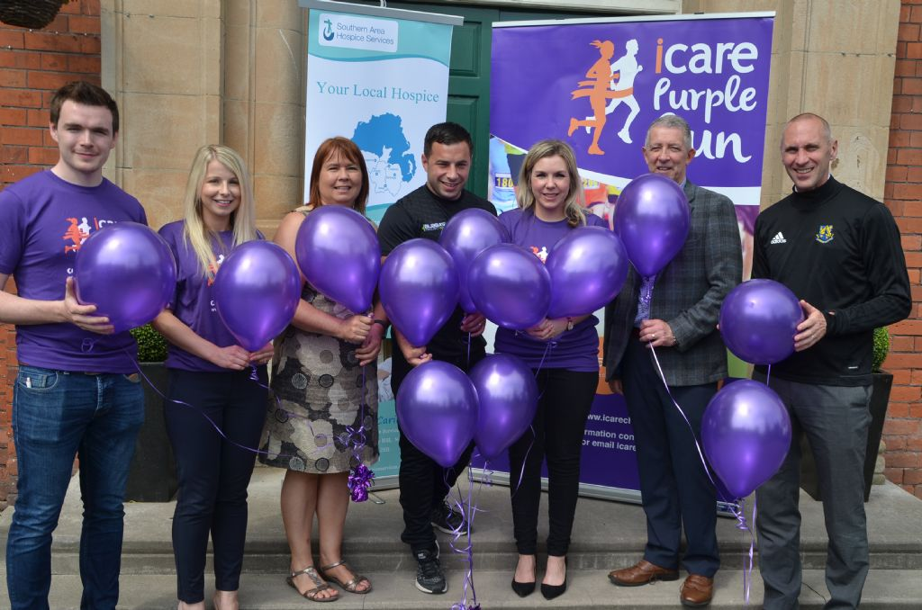 Countdown to this year's annual iCare Purple Run begins
