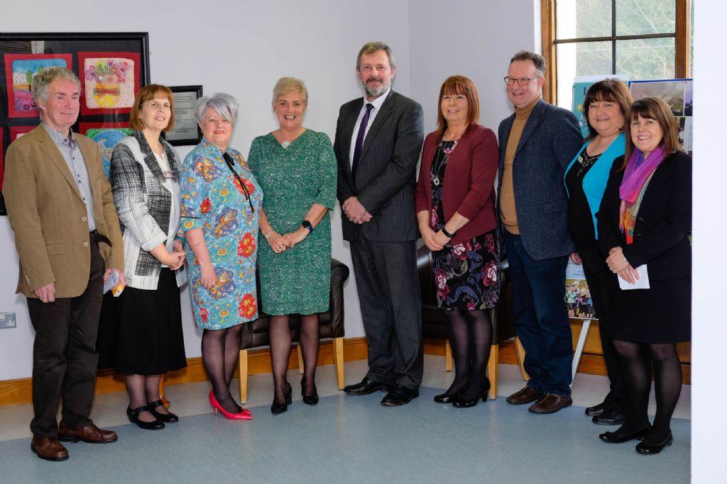 Permanent Secretary visits Hospice