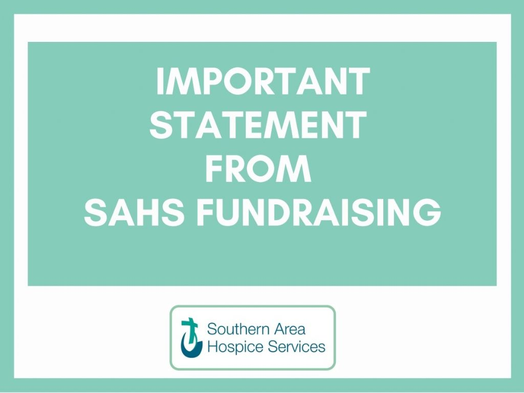 Statement from SAHS Regarding Fundraising