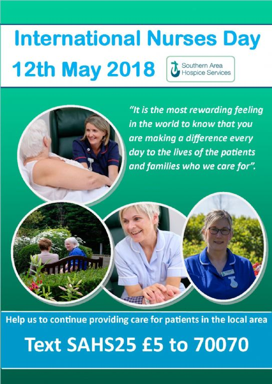 Hospice Celebrate International Nurses Day