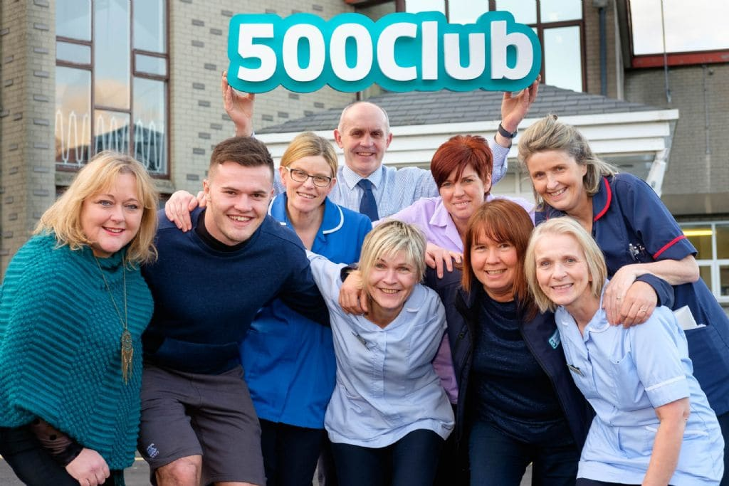 Ireland International rugby player Jacob Stockdale helps launch Hospice 500 Club