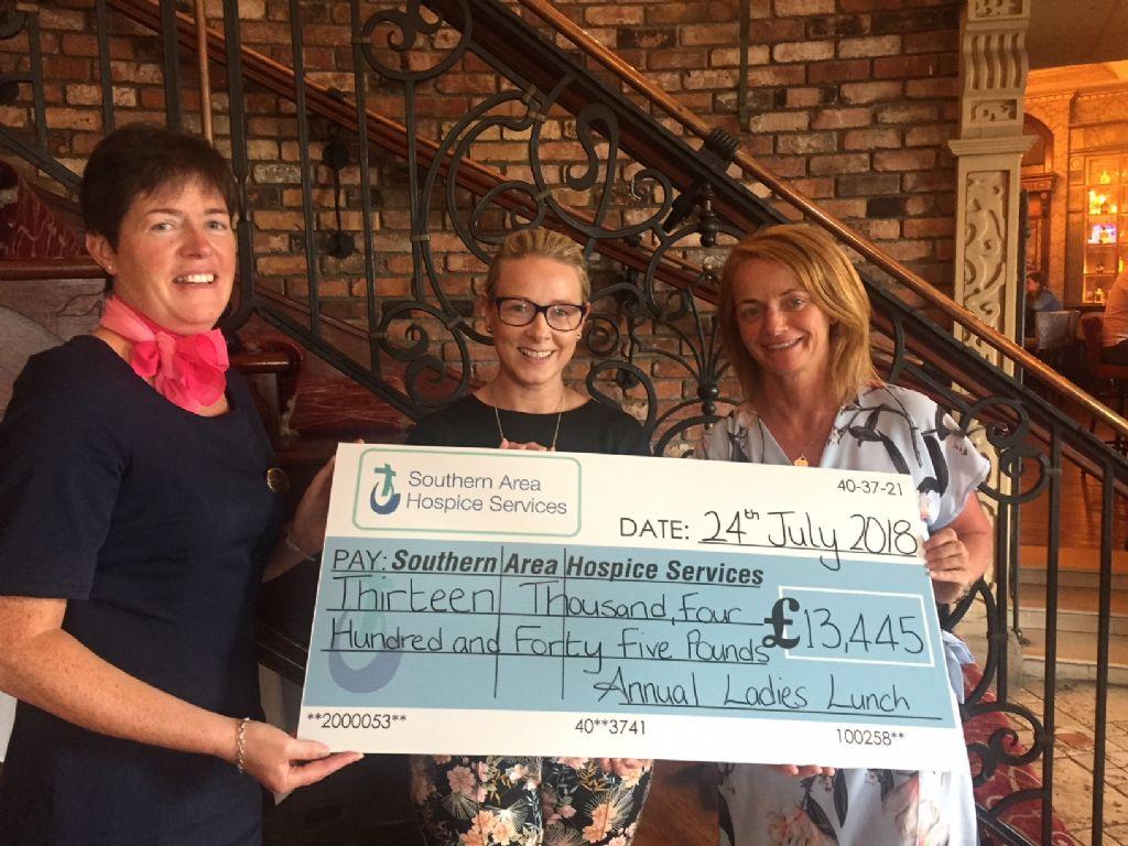Ladies Lunch raises over £13K