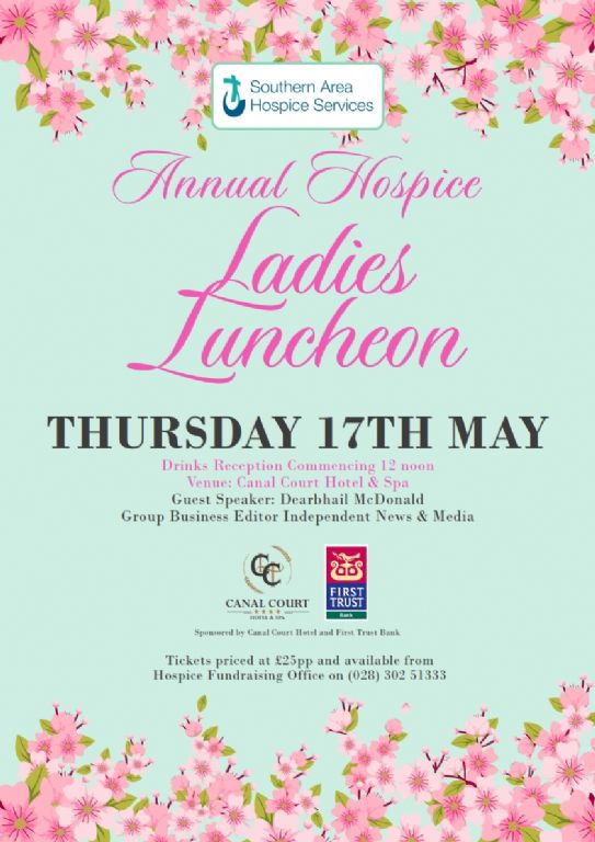 Ladies Luncheon announce Dearbhail McDonald as Guest Speaker