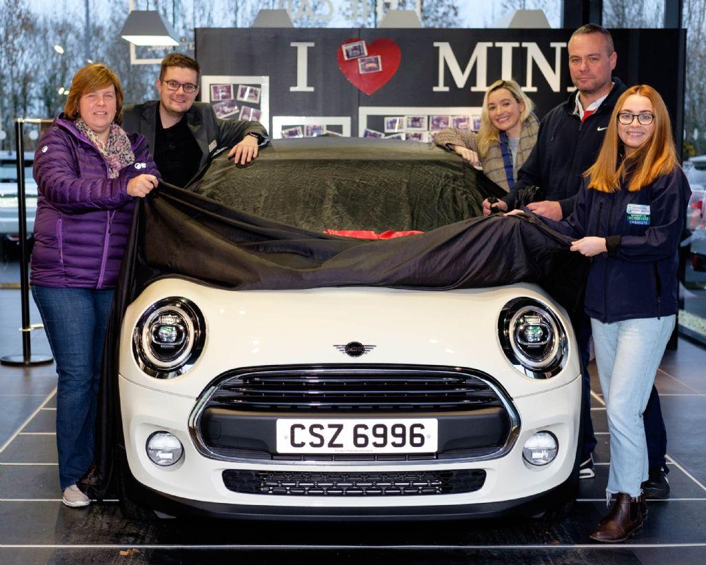Winner of the Mini Car Raffle Revealed