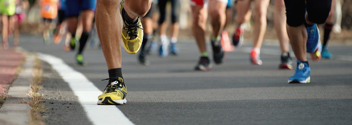 Running a marathon 2018