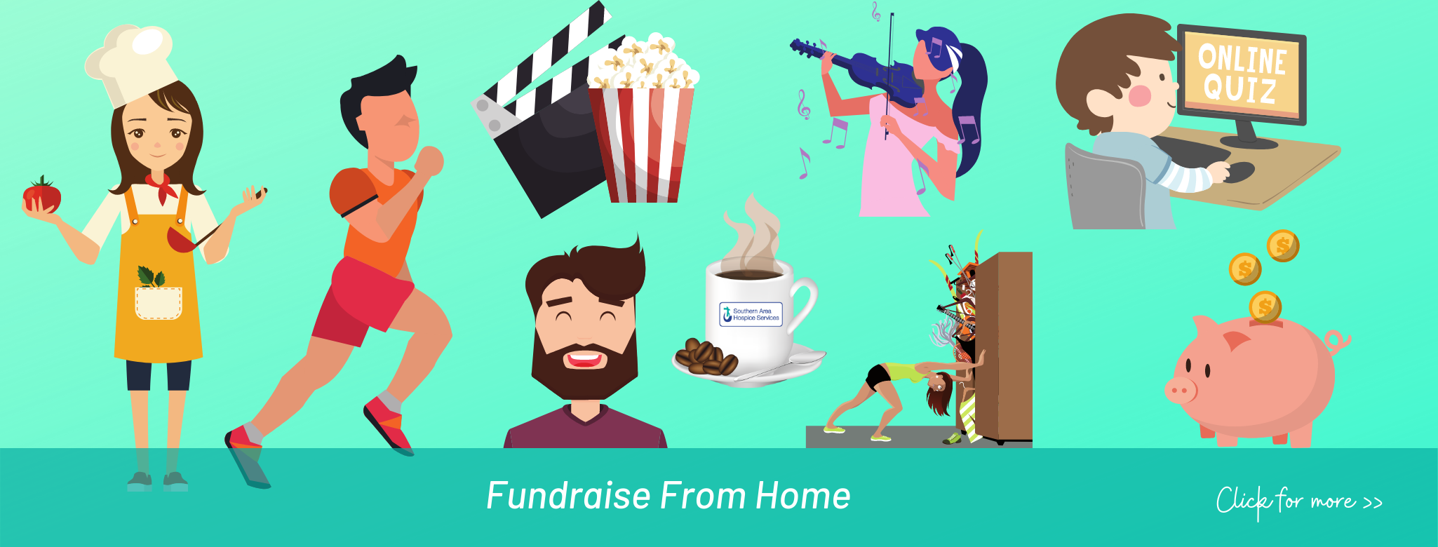 Fundraise From Home
