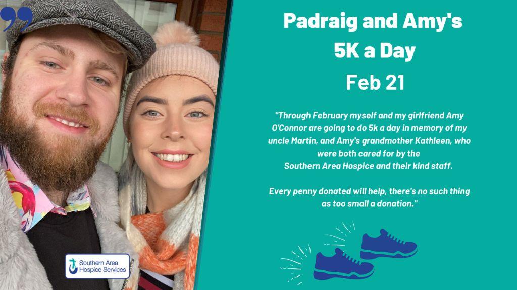 Padraig & Amy 5K a day