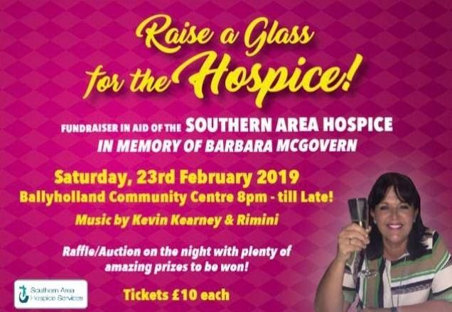 Raise a Glass for the Hospice in memory of Barbara