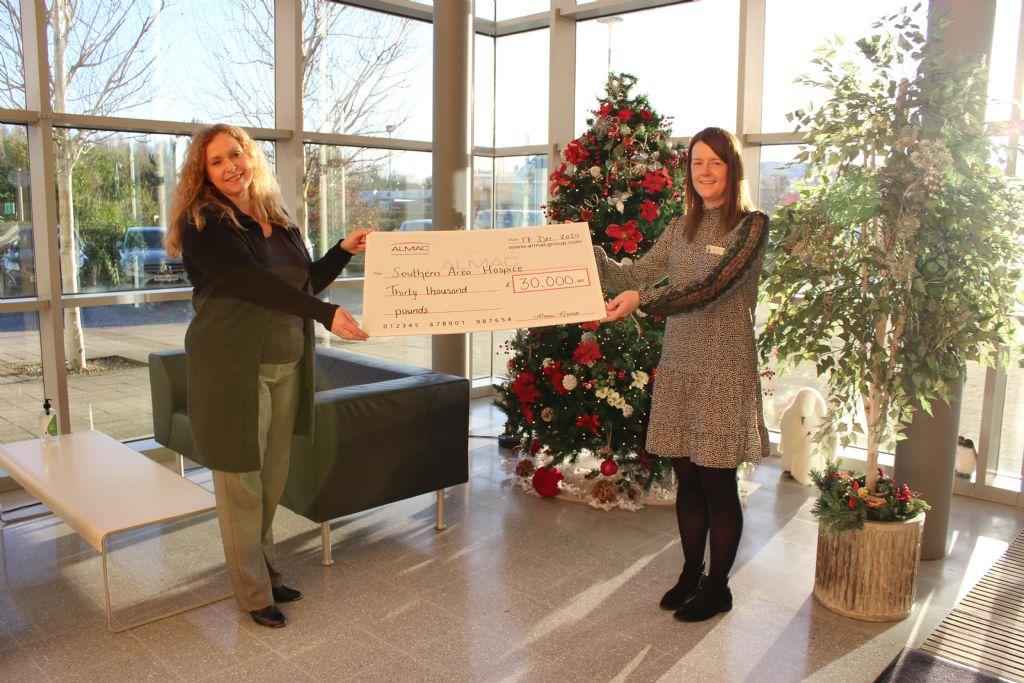 Almac Group Raises £30k for Southern Area Hospice