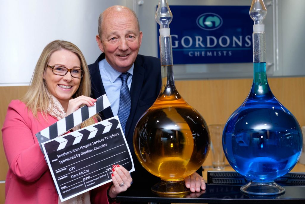 Gordons Chemists Sponsor Hospice TV Advert