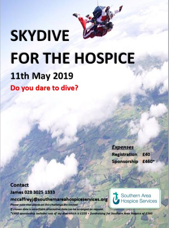 Skydive for Hospice