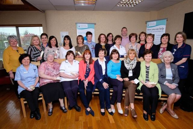 Hospice Staff Awarded for Long Service