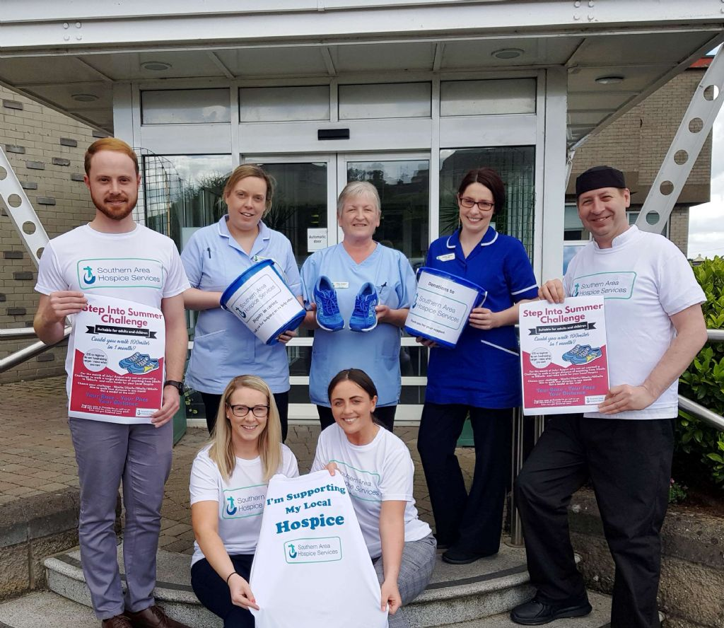 Hospice Launch their Step Into Summer Challenge
