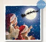 Children Watching Santa