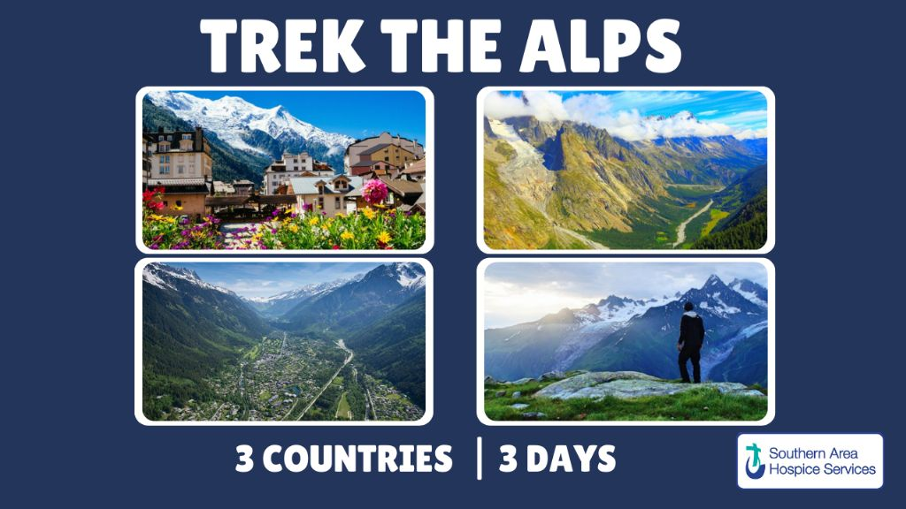 Trek the Alps for Southern Area Hospice Services