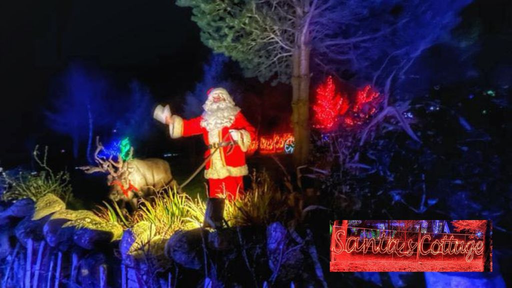 Christmas Spirit Alive and Well at Santa's Cottage in Hilltown