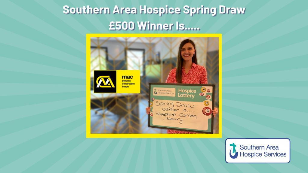 Winner of Hospice Spring Draw Announced