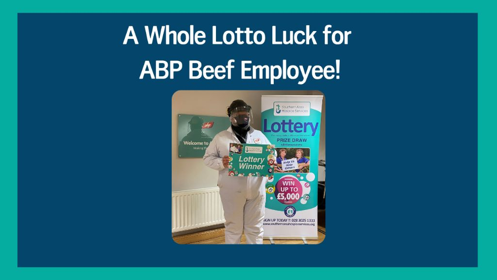 A Whole Lotto Luck for ABP Newry Employee!