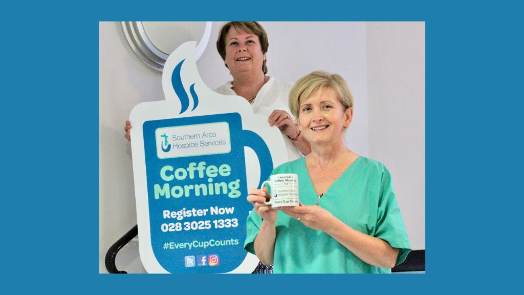 The Southern Area Hospice calls for Coffee Morning hosts.