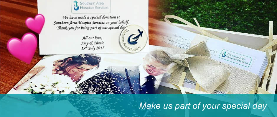 Support Your Local Hospice With Donation Wedding Favours