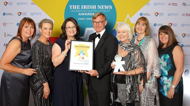 Hospice Win 'Team of the Year' at Irish News Awards
