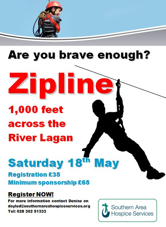 Zipline the River Lagan